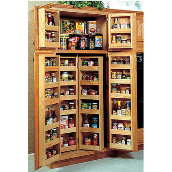 pantry pull out shelves baskets chefs pantries - Kitchen Pantries