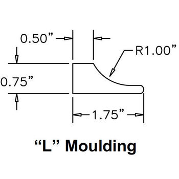 Moulding ''L'' Specifications