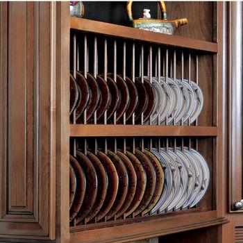 Omega National Pre-Assembled Plate Display Rack Kit (Front & Back)