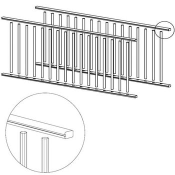 Omega National Ready to Assemble (RTA) Solid Wood Plate Display Rack Kit