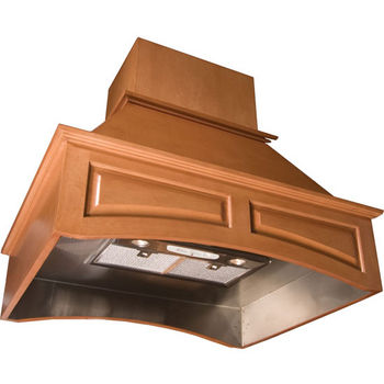 Signature Series Arched Wall Mounted Range Hood - by Omega National
