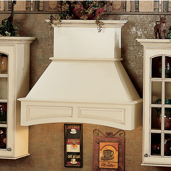 Omega National Arched Signature Wall Mount Range Hood with Liner for NA-SUT90870M