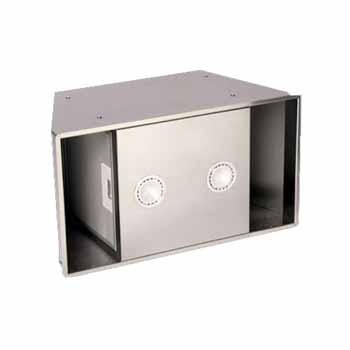 Omega National Ventilation Power Modules for Signature Series Wall Mount Range Hoods, 600 CFM Internal with Remote, Stainless Steel