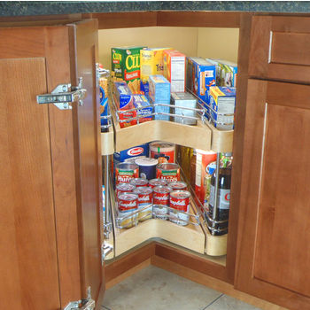 Omega National Easy Access Corner Pantry