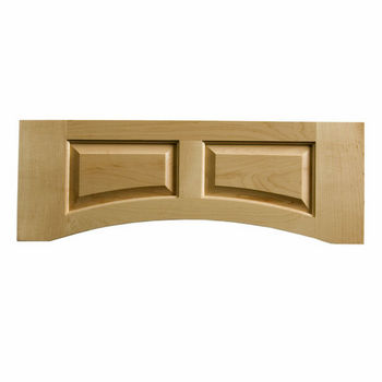 "Omega National Solid Wood Raised Panel Valance, 30"" W x 10-1/2"" H"