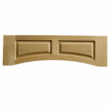 "Omega National Solid Wood Raised Panel Valance, 36"" W x 10-1/2"" H"