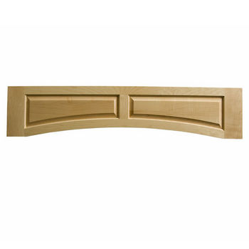 "Omega National Solid Wood Raised Panel Valance, 54"" W x 10-1/2"" H"