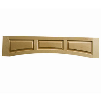 "Omega National Solid Wood Raised Panel Valance, 60"" W x 10-1/2"" H"