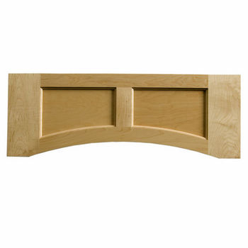 "Omega National Solid Wood Flat Panel Valance, 30"" W x 10-1/2"" H"