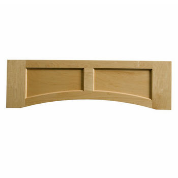 "Omega National Solid Wood Flat Panel Valance, 36"" W x 10-1/2"" H"