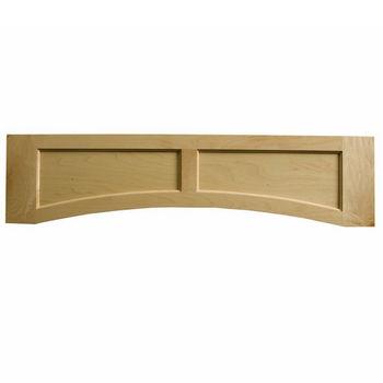"Omega National Solid Wood Flat Panel Valance, 48"" W x 10-1/2"" H"