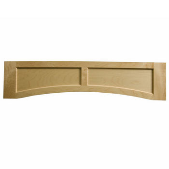 "Omega National Solid Wood Flat Panel Valance, 54"" W x 10-1/2"" H"