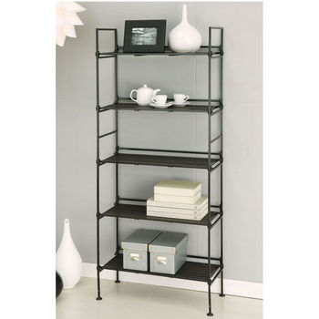 Neu Home Ebonize Collection 5 Tier Shelf