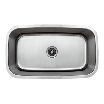 Sink Overhead View
