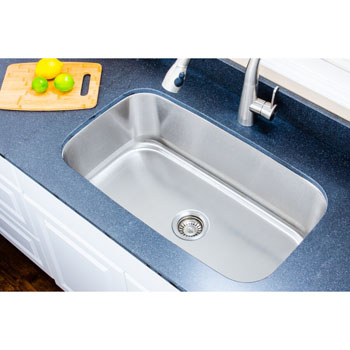 Sink Installed In Use