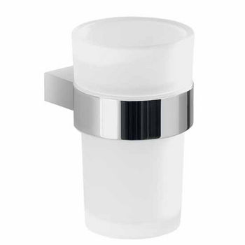 Nameeks Gedy Canarie Collection Toothbrush Holder, Chrome