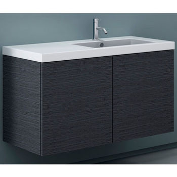 Iotti by Nameeks Space SE03 Wall Mounted Single Sink Bathroom Vanity in  Multiple Finishes  39  Wide  Includes  Main. Space Saving Wall Mounted Bathroom Vanities   KitchenSource com