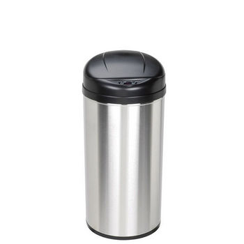 12.9 Gal. Stainless Steel Infrared Trash Can