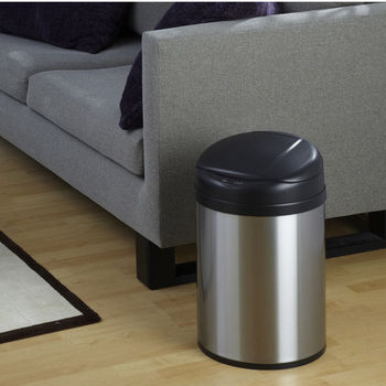 8.2 Gallon Motion Sensor Trash Can Stainless Steel