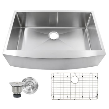 Sink with Included Accessories