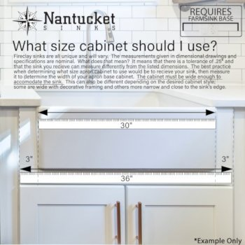 Fireclay Cabinet Info