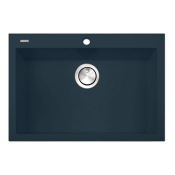 nantucket sinks plymouth collection large single bowl undermount granite composite kitchen sink in titanium 30w x. beautiful ideas. Home Design Ideas