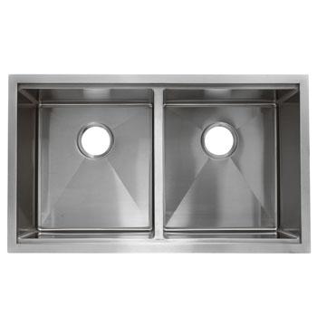 DE-Double Sink Top View
