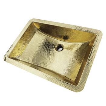 "21"" Rectangle Bathroom Sink Angle View"