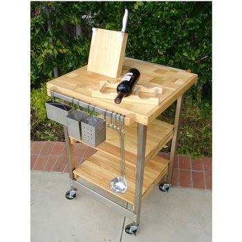Oasis Folding Kitchen Islands & Carts | KitchenSource.com