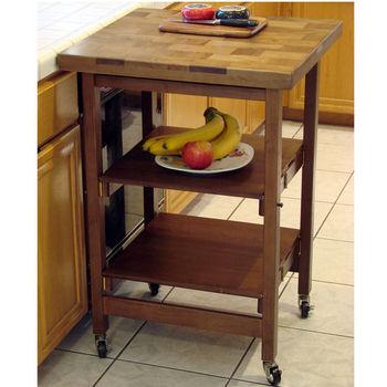 Oasis Folding Kitchen Islands & Carts   KitchenSource.com
