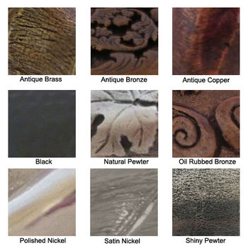 Premier Hardware Designs Available Finishes