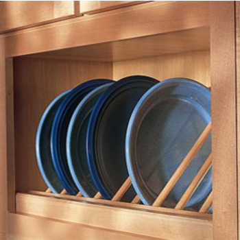 Upper Cabinet Lazy Susans Plate Display Units