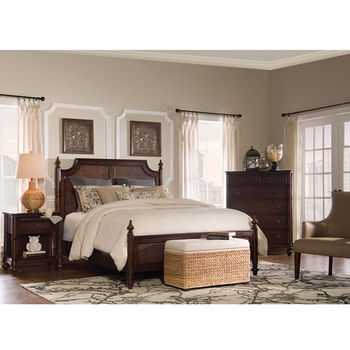 Passages Queen Bed Cane
