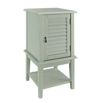 Aqua Shutter Door Table