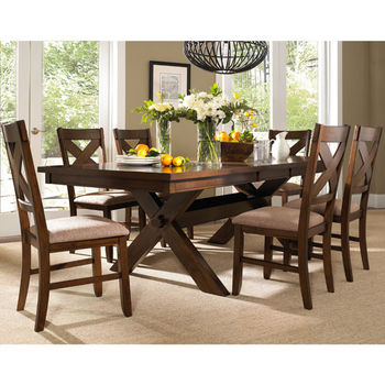 7-Pc Wd Kraven Dining Set