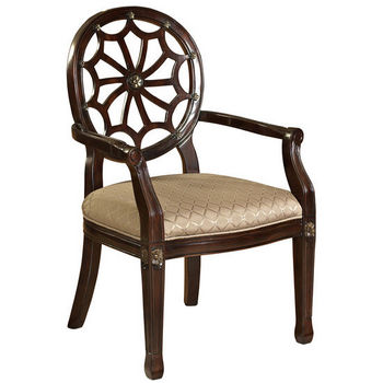 Spider Web Back Accent Chair by Powell