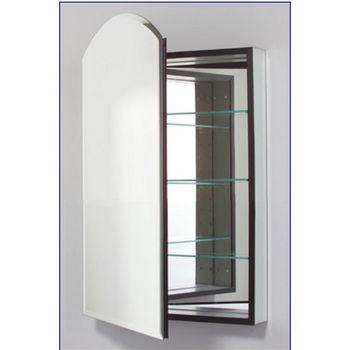 Robern M Series 16x30 Medicine Cabinet Arch Door Bevel Edge Left Side Hinges 15 1 4 W X 6 D 34 H