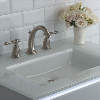 Fantastic Balletto Collection Vanity Glass Top W Integrated Sink Or Interior Design Ideas Clesiryabchikinfo