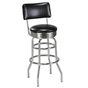 Regal - Metal Retro Style Bar Stool