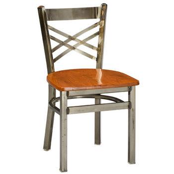 Regal - Italian Wood/Metal Combo Chair