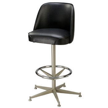 Regal - Metal Pedestal Bar Stool