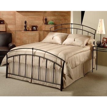 Hillsdale Furniture Vancouver Collection Full Bed Set with Rails in Antique Brown (Set Includes: Headboard, Footboard and Rails)