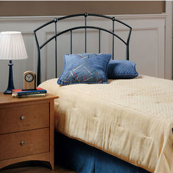 Hillsdale Furniture Vancouver Collection Headboard Set with Rails in Antique Brown (Set Includes: Headboard and Rails)