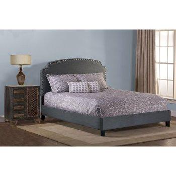 Dark Gray Bed Set Illustration