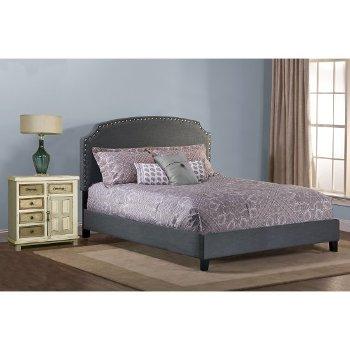 Dark Gray Bed Set Illustration 2