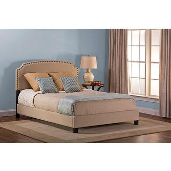 Beige Linen Bed Set