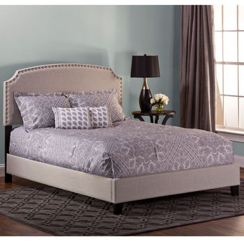 Light Gray Linen Bed Set