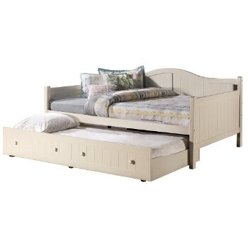 Daybed w/ Drawer Opened Angle View