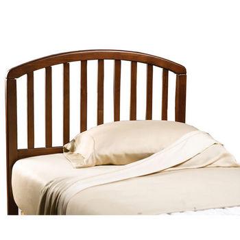 Hillsdale Furniture Carolina Cherry Twin Bed Set w/out Footboard, Includes Headboard & 4-Leg Frame