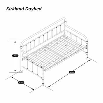 Daybed Dimensions